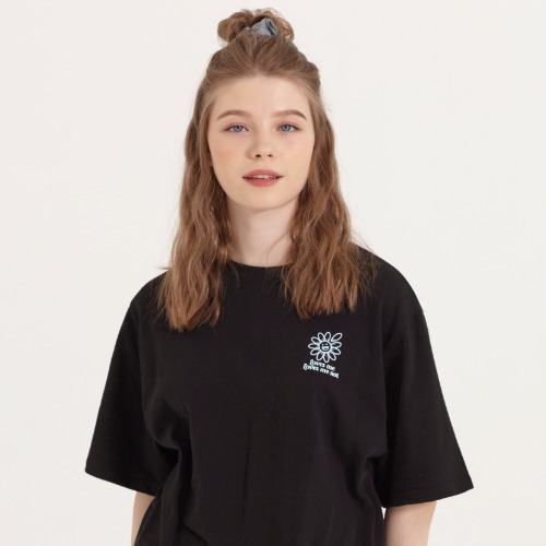 LOOSE FIT PRINT TEE [BLACK]